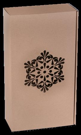 Pudełko prezentowe EKO Kraft 8 36x20x9,5 cm - ROZETA