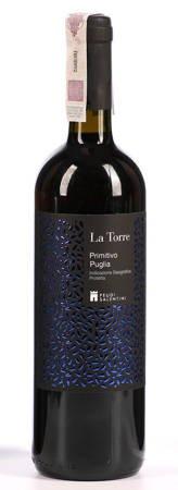 Wino Primitivo Puglia - Wino czerwone 0,75l - Włochy