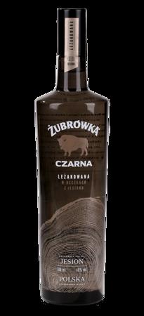Wódka Żubrówka Czarna 0,7 l