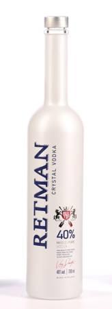 Wódka czysta Retman Crystal Vodka 700ml alk.40% (253)