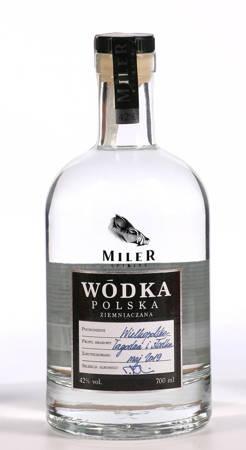 Wódka ziemniaczana Miler 0,7l alk. 42% (312)