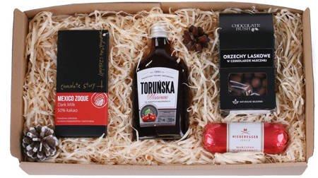 Zestaw prezentowy - Toruńska wiśniowa i Czekolada świąteczna